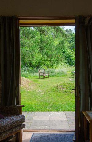 View from patio doors