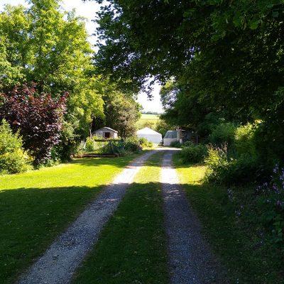 Entrance to Oak Meadow