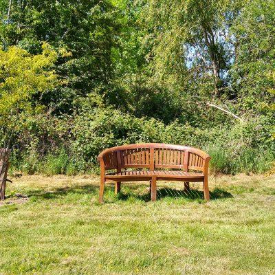 Bench in Oak Meadow