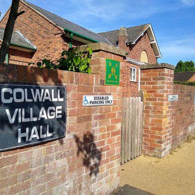 Village hall, often has events on