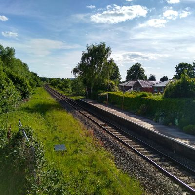Colwall train station